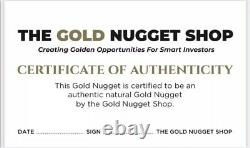 9.77 gram natural gold nugget from Australia