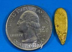 #919 Australian Natural Gold Nugget 2.73 Grams Genuine