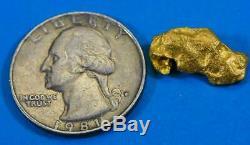 #938 Australian Natural Gold Nugget 3.97 Grams Genuine