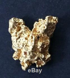 AUSTRALIAN NATURAL GOLD NUGGET 6.8 GRAMS From Bendigo Butterfly Shape