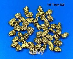 Alaskan BC Natural Gold Nugget 311.00 Gram lot of 5 to 10 gram Nuggets Genuine 1
