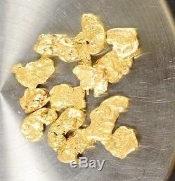 Alaskan-Yukon BC Natural Gold Nugget #4 10 GRAMS OF CLEAN GOLD FLAKES