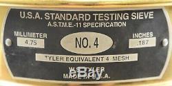 Alaskan-Yukon BC Natural Gold Nugget #4 Mesh 10 Troy Ounce 311 Gram