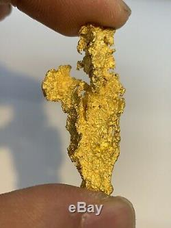 Australia Natural Gold Crystalline Nugget / Nuggets Weight 18.57 Grams