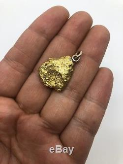 Australia Natural Gold Nugget / Nuggets Pendant Weight 16.61 Grams