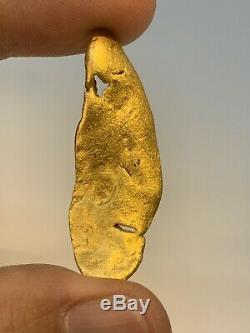 Australia Natural Gold Nugget / Nuggets Weight 19.83 Grams