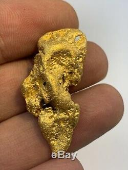 Australia Natural Gold Nugget / Nuggets Weight 21.45 Grams