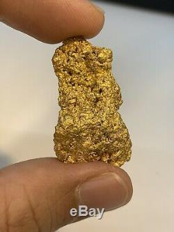 Australia Natural Gold Nugget / Nuggets Weight 25.86 Grams
