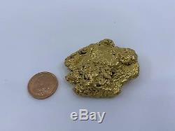 Australia Natural Gold Nugget / Nuggets Weight 67.00 Grams