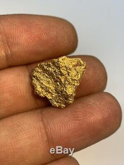 Australia Natural Gold Nugget / Nuggets Weight 7.80 Grams