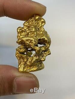 Australia Natural Gold Nugget / Nuggets Weight 72.23 Grams