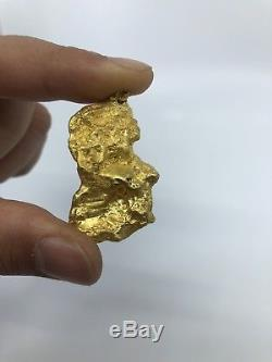 Australia Natural Gold Nugget / Nuggets Weight 75.57 Grams