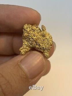 Australia Natural Gold Nugget / Nuggets Weight 8.81 Grams