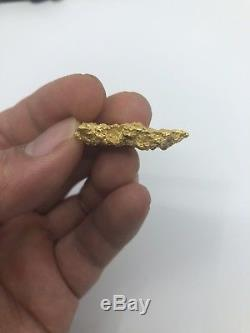 Australia Natural Gold Nugget /nuggets Weight 17.19 Grams
