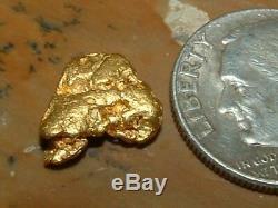 Australian Gold Nugget 1.71 Gram Natural Gold Specimen