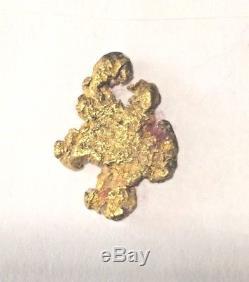 Australian Gold Nugget, Large Natural Gold Nugget Australian ca 8g Grams Genuine