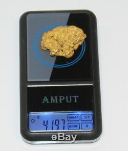 Australian Natural Gold Nugget 41.97 Grams