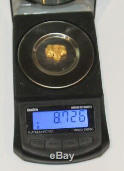 Australian Natural Gold Nugget 8.72 Grams