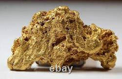 Australian Natural Gold Nugget 84.34 Grams