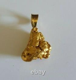 Australian Natural Gold Nugget 9.67 Grams