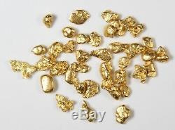 Australian Natural Gold Nuggets 5.01 Grams