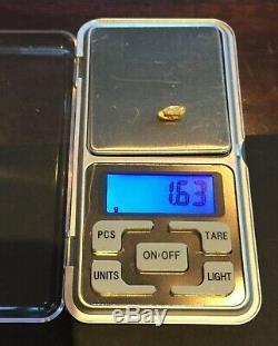 Australian natural gold nugget 1.63 Grams #27
