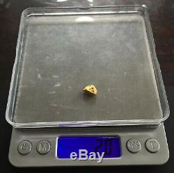 Australian natural gold nugget 2 Grams # 5
