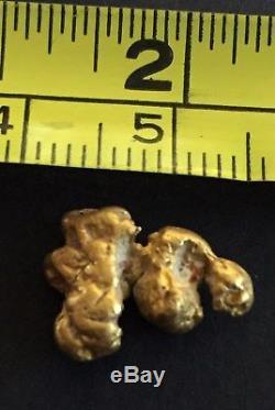 Australian natural gold nugget 3.4 Grams #47