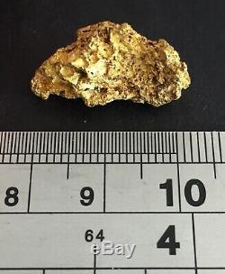 Australian natural gold nugget 7.71 Grams #58