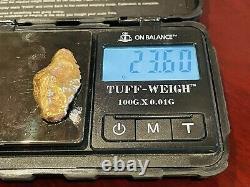 BEST OFFER STUNNING 23.60g Australian Natural Gold Nugget