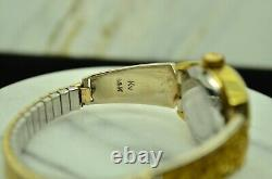 Baylor Ladies Wristwatch With 14k Natural Nugget Watch Band Extenders