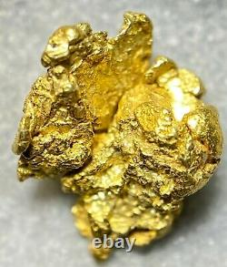 Beautiful Alaskan Natural Placer Gold Nugget 1.000 grams Free Shipping! #A2095