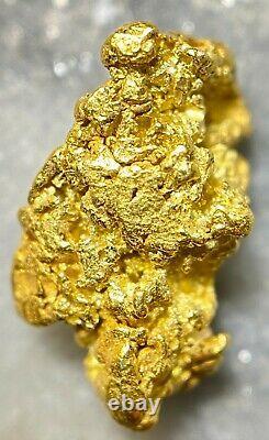Beautiful Alaskan Natural Placer Gold Nugget 1.363 grams Free Shipping! #A2347