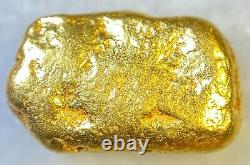 Beautiful Alaskan Natural Placer Gold Nugget 1.834 grams Free Shipping! #A1303