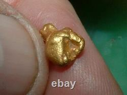 California Gold Nugget 1.41 Gram Natural Gold