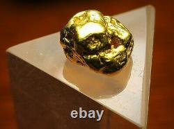 Californian Natural Gold Nugget, 5 Grams, Tested over 22K