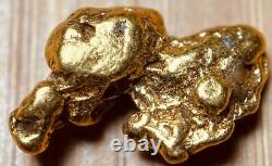 Discounted Alaskan Natural Placer Gold Nugget 1.068 grams Free Shipping! #A971