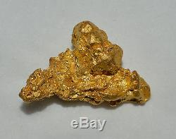GOLD NUGGET CRYSTAL NATURAL 24.380 grams Palmer River Goldfields QLD Australia