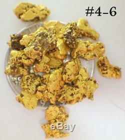 GOLD NUGGETS 10+ GRAMS Alaskan Natural Placer #6 Faith Creek High Pure Chunky