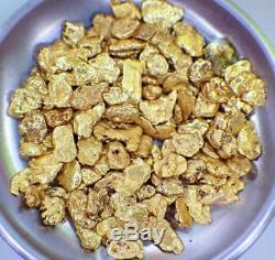 GOLD NUGGETS 10+ GRAMS Placer Alaska Natural #10 Jewelers Grade FREE Ship