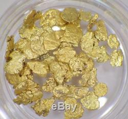 GOLD NUGGETS 3+ GRAMS Placer Alaska Natural #10 Jewelers Grade FREE Shipping