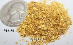 GOLD NUGGETS 5+ GRAMS Alaskan Natural Placer #16 #50 Mesh Mammoth Creek