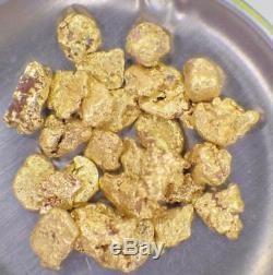 GOLD NUGGETS 5 GRAMS Natural Placer Alaska Natural #8 Mesh FREE SHIPPING Hi Pure