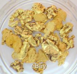 GOLD NUGGETS 5+ GRAMS Natural Placer Alaskan Natural #8 Ganes Creek Chunky