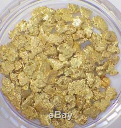 GOLD NUGGETS 5+ GRAMS Placer Alaska Natural #12 Screen Jewelers Grade FREE Ship