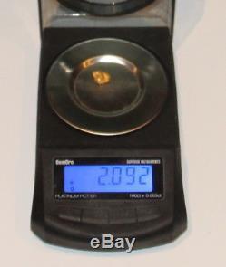 Gold Nugget 2.09 Grams (australian Natural)