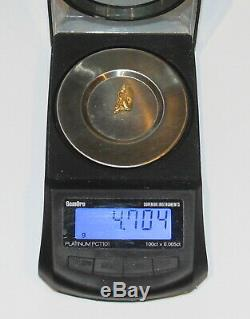 Gold Nugget 4.70 Grams (australian Natural)