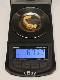 Gold Nugget 8.73 Grams (australian Natural)