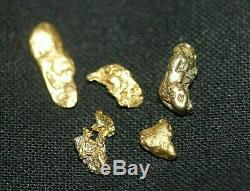 Gold Nuggets 2.20 Gram, Alaskan Natural Placer # 6, Hi Purity, Low Shipping
