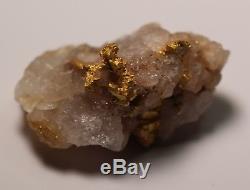 Gold Specimen Nugget 9.09 Grams (australian Natural)